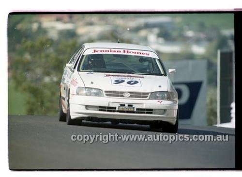 98882 - BERNIE GILLON / PAUL PEDERSEN, TOYOTA CORONA - AMP 1000 Bathurst 1998 - Photographer Marshall Cass