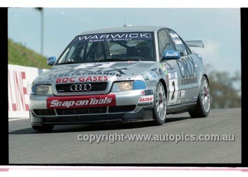 98867 - PAUL MORRIS / PAUL RADISICH,AUDI A4 - AMP 1000 Bathurst 1998 - Photographer Marshall Cass