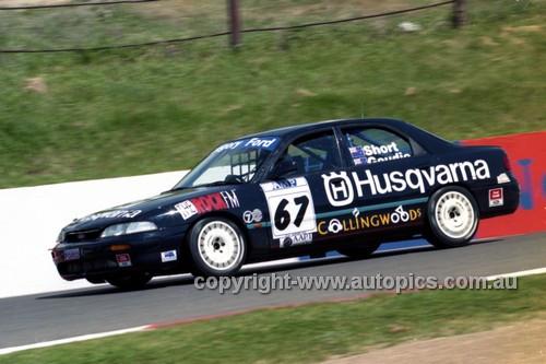 98858 - GEOFF SHORT I GREG GOUDIE, FORD TELSTAR - AMP 1000 Bathurst 1998 - Photographer Marshall Cass