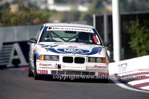98853 - KEVIN BELL I ROD HICKS, BMW 320i - AMP 1000 Bathurst 1998 - Photographer Marshall Cass