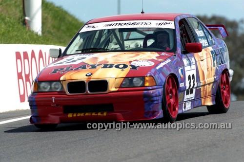 98849 - ROD WILSON I RODNEY FORBES, BMW318i - AMP 1000 Bathurst 1998 - Photographer Marshall Cass