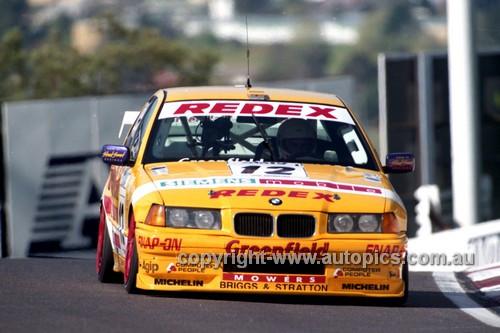 98841 - TONY SCOTT / CAMERON McLEAN, BMW 320i - AMP 1000 Bathurst 1998 - Photographer Marshall Cass