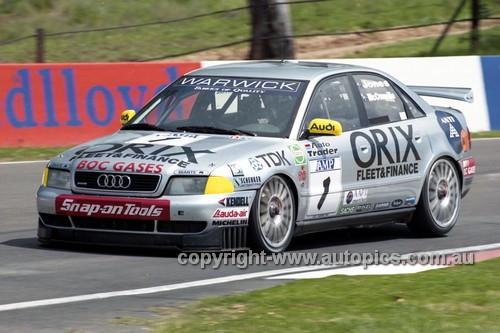 98840 - BRAD JONES / CAMERON McCONVILLE, AUDI A5 - AMP 1000 Bathurst 1998 - Photographer Marshall Cass