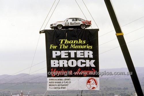 """97811 - Peter Brock's """"Farewell""""  - Bathurst 1997 - Photographer Marshall Cass"""