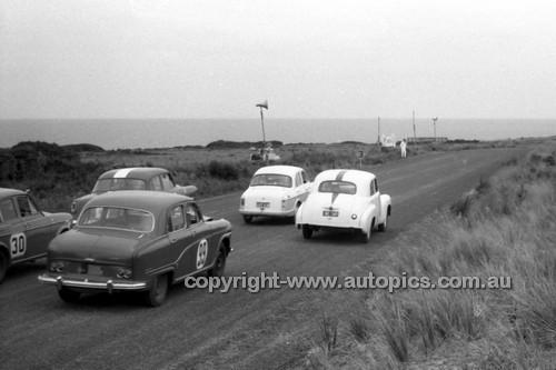59530 - Austin A95 - Templestowe Hillclimb 1959 - Photographer Peter D'Abbs