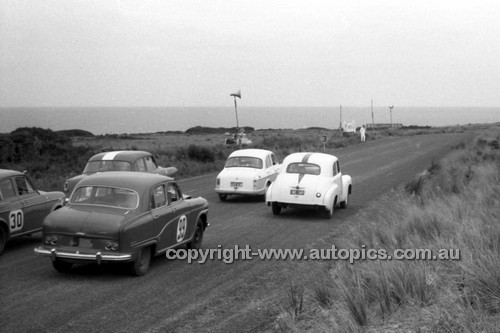 59529 - G. Fuyers, Austin A95 - Phillip Island 1959 - Photographer Peter D'Abbs