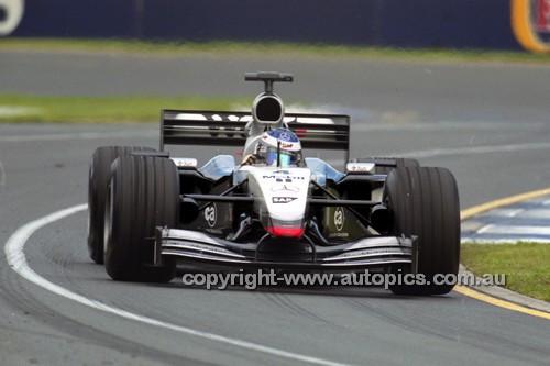 202515 - Kimi Räikkönen  McLaren-Mercedes  - 3rd Australian Grand Prix 2002 - Photographer Craig Clifford