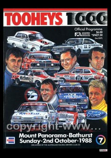 725 - Bathurst Programme 1988