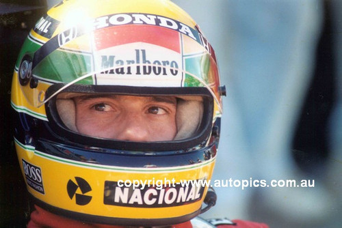 Ayrton Senna  -  Adelaide 1989