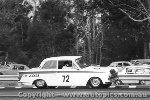 68023  -  David Weekes  -  Lotus Cortina - Warwick Farm 1968