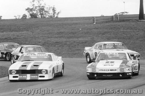 79003  -  First Lap  -  Oran Park 1979 - Richards - Falcon / Grice / Ward - Monaro / Edmondson - Alfa Romeo Alfetta / Moffat - Monza