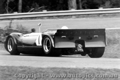 67402  -  Frank Matich  -  Matich SR3 Traco Olds V8  Warwick Farm  1967 - Photographer David Blanch