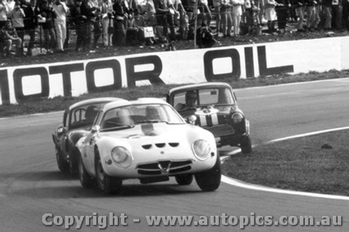 67409  -  Max Brunninghausen  -  Alfa Romeo GTZ also a Milano and Broadspeed GTS - Oran Park 1967