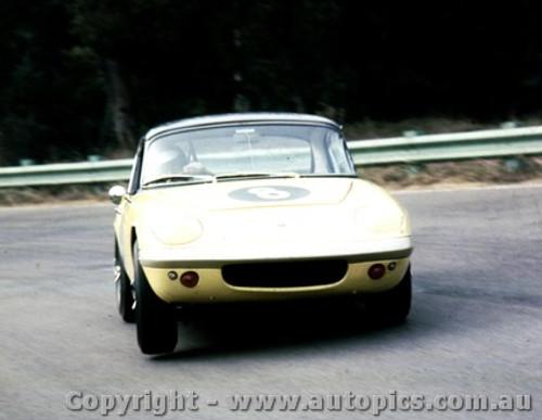 67413  -  Fred Gibson - Lotus Elan  -   Warwick Farm - 1967