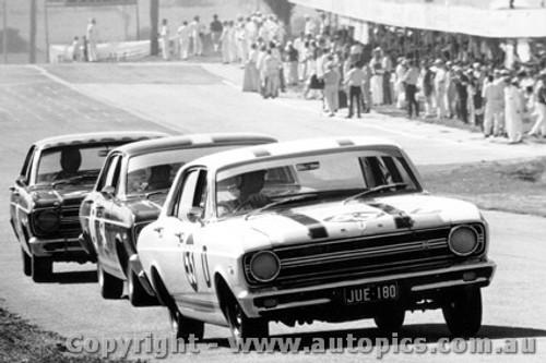 67709  -  Ian  Pete  Geoghegan  -  Ford Falcon XR GT  Bathurst  1967