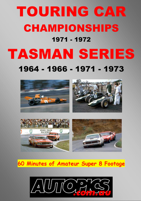 129 - Touring Cars & Tasman Series DVD - SPECIAL Only $30