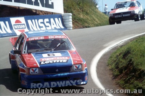 83709  -  A. Grice / C. Bond    Bathurst 1983  3rd Outright  Commodore VH