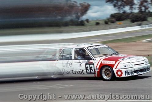 86713  -  Burgmann / Rose    Bathurst 1986   Commodore VK