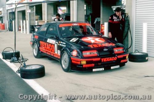 87713  -  K.Ludwig /  K.Niedzwidz    Bathurst 1987 Texaco Ford Sierra
