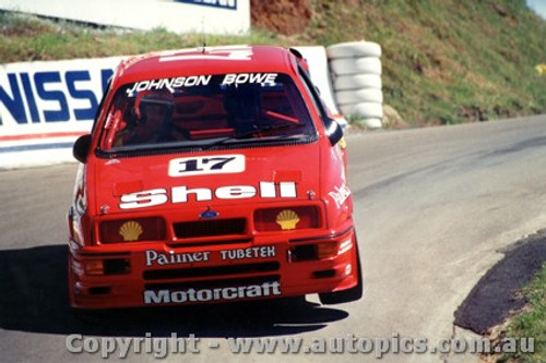 88702  -  D. Johnson / J. Bowe    Bathurst 1988  2nd Outright  Ford Sierra RS500