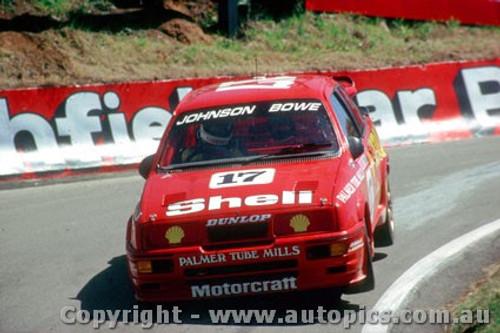 89702  -  D. Johnson / J. Bowe    Bathurst 1989  1st Outright   Ford Sierra RS500