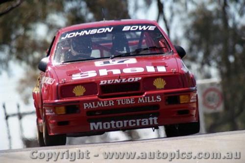 89703  -  D. Johnson / J. Bowe    Bathurst 1989 -1st Outright   Ford Sierra RS500.