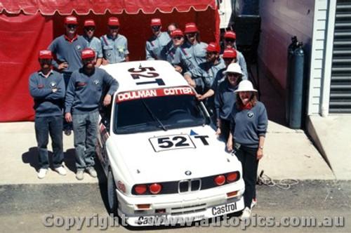 89710  -  Cotter / Doulman / Mezera    Bathurst 1989  Winners Class 2  BMW M3