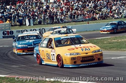 95704  -  D. Johnson / J. Bowe   Bathurst 1995  Ford Falcon EF