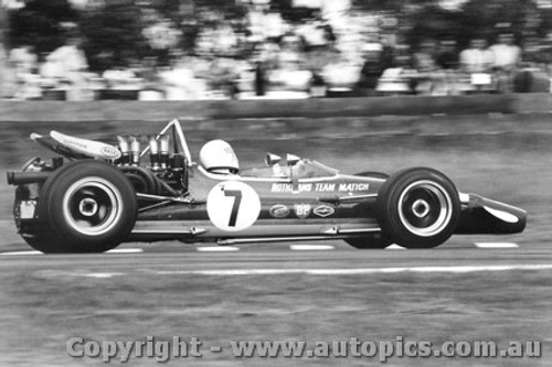 70604  -  Frank Matich  -  McLaren M10B F5000  Warwick Farm  1970 - Photographer David Blanch