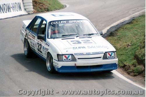 87717 - Cullen / Sprague  -  Bathurst 1986 - Commodore VK