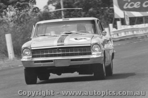 68034 - Norm Beechey Chev Nova Sandown 1968 - Photographer David Blanch