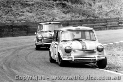 68035 - Manton & Foley Morris Cooper S  Catalina Park Katoomba1968