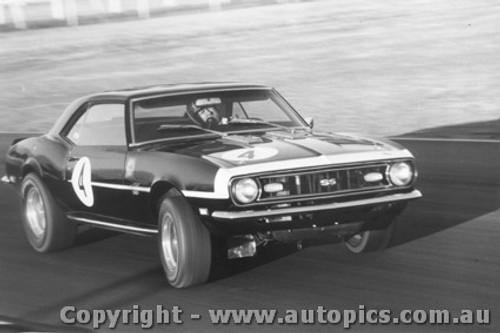 68037 - Norm Beechey Chev Camaro Warwick Farm 1968