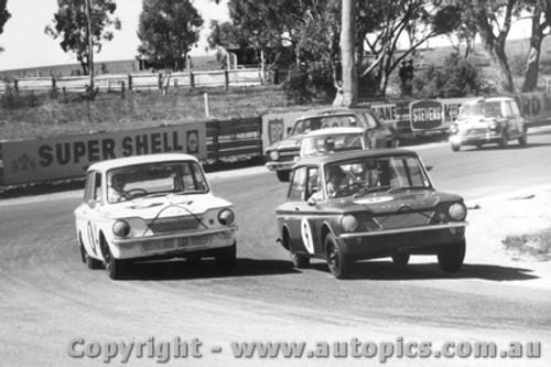 67726 - Edgerton / Toshack and Eiffeltower / OKeefe  Hillman Imp -  Bathurst  1967