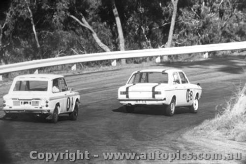 67728 - Eiffeltower / OKeefe  Hillman Imp - MacArthur / Treloar  Hillman Arrow -  Bathurst  1967