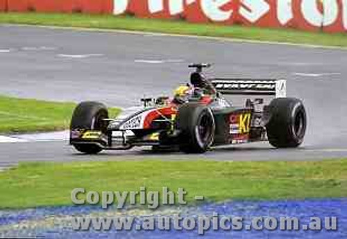 202501 - Mark Webber - Minardi -  Australian Grand Prix 2002