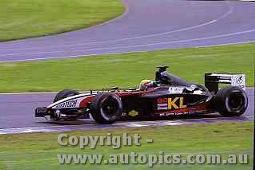 202502 - Mark Webber - Minardi - Australian Grand Prix 2002
