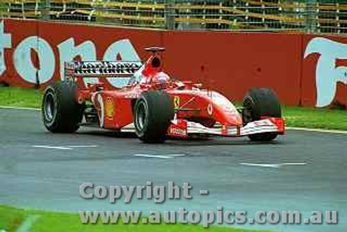 202504 - Michael Schumacher - Ferrari - Winner Australian Grand Prix 2002