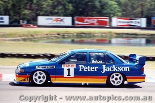 94004 - Glenn Seton - Ford Falcon - Amaroo Park 1994