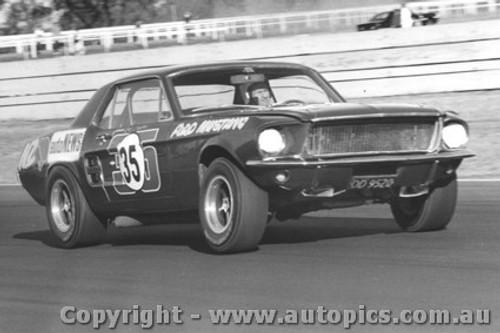 68048 - Red Dawson Ford Mustang - Warwick Farm 1968