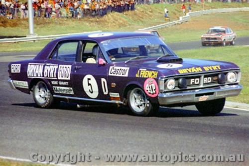 72036 - John French  Ford Falcon GTHO - Sandown 1972