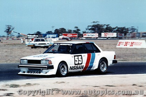 82001  -  G. Fury Nissan Bluebird Turbo - Calder 1982