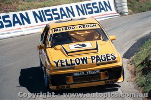 88708 - McLeod / Keogh Holden Commodore VL - Bathurst 1988