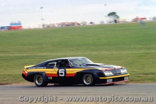 78008 - Allan Collins - Ford Falcon XA - Oran Park 1978 - Ex John Goss 1974 Bathurst Winning Car