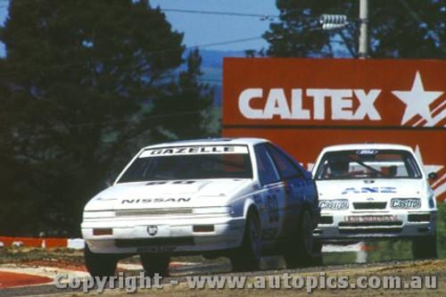 87721 - Mark Skaife Nissan Gazelle - Bathurst 1987