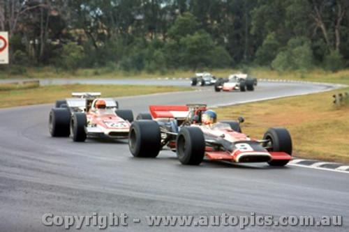 70626 - M. Goth Surtees TS5 - B. Simpson Eagle Chev -  Tasman Series 1970 - Warwick Farm
