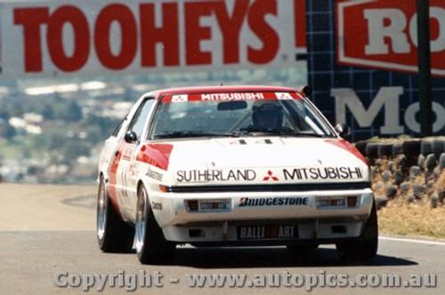89723 - K. Bartlett / G. Scott  Mitsubishi Starion -  Bathurst 1989