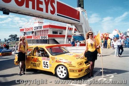89726 - K. Waldock / B. Thomson  -  Bathurst 1989 - Ford Sierra RS500