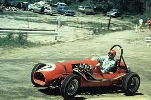 68164 - Andrew Rozsa - MG Holden - Lakeland Hillclimb December 1968