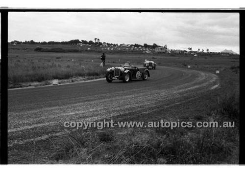 B. Swingler MG TC - Phillip Island - 22nd April 1957 - Code 57-PD-P22457-017